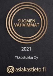 Ykköstukku Oy - Suomen vahvimmat 2021